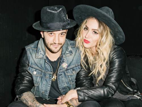 Courtesy photo  Mark Ballas and BC Jean perform as the indie pop duo Alexander Jean.