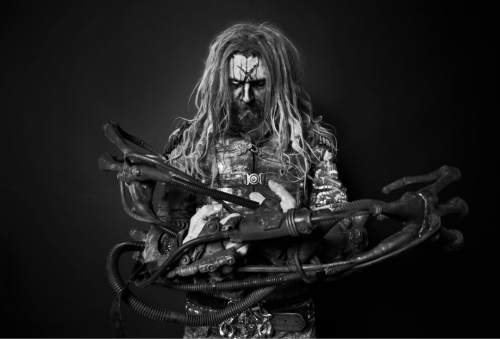 """   Courtesy photo  Shock rocker Rob Zombie will be co-headlining a """"Return of the Dreads"""" tour show with Korn at Usana Amphitheatre on Wednesday, July 20. Zombie's sixth solo studio album was released on April 29."""