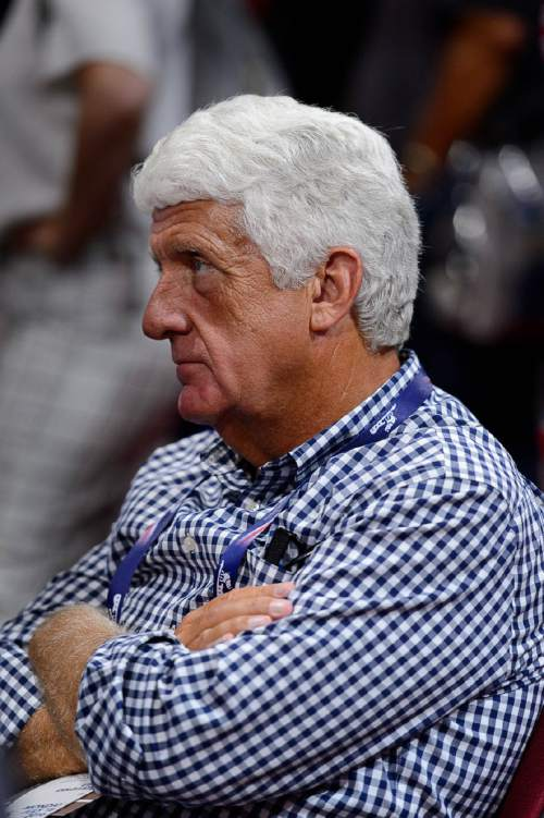 Trent Nelson  |  The Salt Lake Tribune Congressman Rob Bishop listens to a speech by Melania Trump at the 2016 Republican National Convention in Cleveland, OH, Monday July 18, 2016.