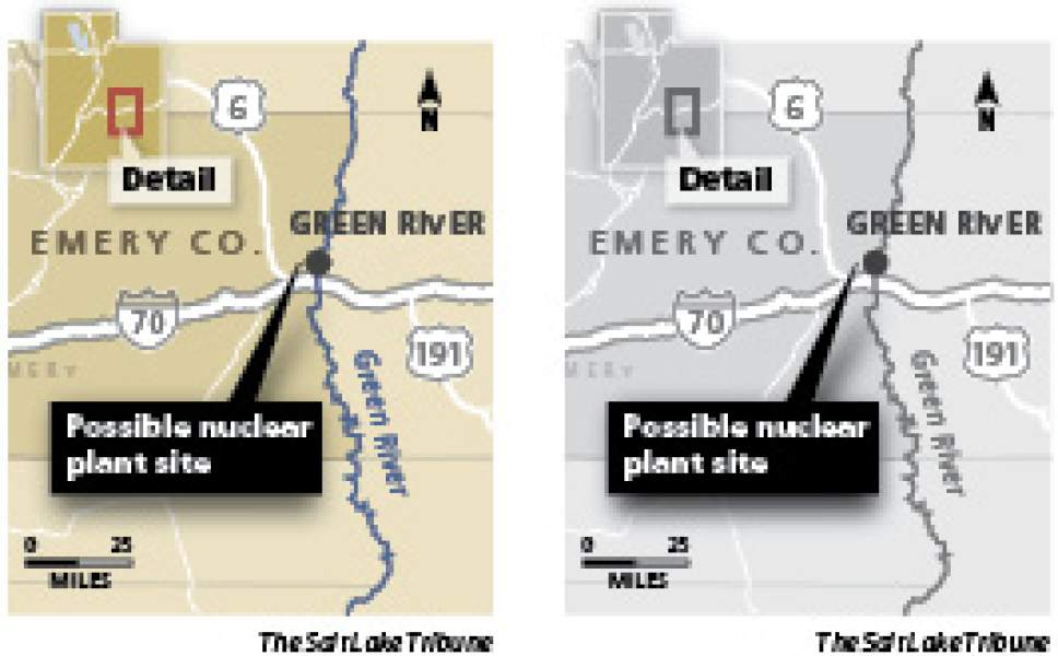 Appeals court backs nuclear water plan The Utah Court of Appeals has ruled that Blue Castle Holdings, the company which wants to build the Green River nuclear reactors, can lease a massive quantity of water to cool the proposed project.
