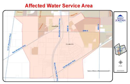 Waterline break leaves residents in South Jordan West Jordan