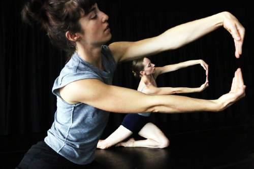 Charlotte Boye-Christensen  |  Courtesy  Tara McArthur and Katherine Lawrence in NOW-ID's Exodus.