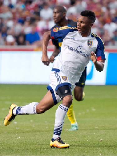 Michael Mangum  |  Special to the Tribune  Real Salt Lake midfielder Jordan Allen (70) charges downfield looking for a pass during their international friendly against Inter Milan at Rio Tinto Stadium in Sandy, Utah on Tuesday, July 19th, 2016.