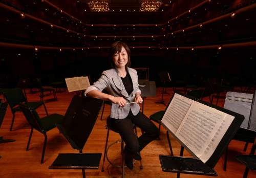 Tribune file photo Rei Hotoda will lead most of the Utah Symphony's community concerts this summer.