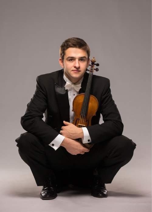 Courtesy photo Violinist Will Hagen