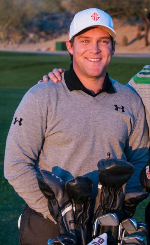 | Courtesy Photo  Daniel Summerhays (left) and his brother Boyd, who also played on the PGA Tour.