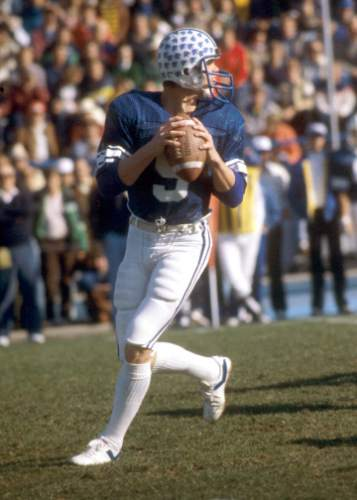 photo courtesy Mark Philbrick/BYU  Jim McMahon, date unknown.