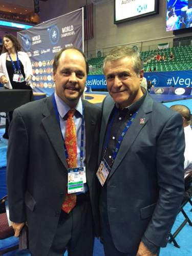 |  Courtesy  Khosrow Semnani, an Iranian-born businessman and philanthropist, has pledged cash donations to American and Iranian wrestlers and their coaches for winning a medal at the Olympic Games in Rio.