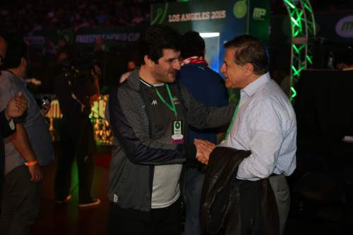    Courtesy  Khosrow Semnani, an Iranian-born businessman and philanthropist, has pledged cash donations to American and Iranian wrestlers and their coaches for winning a medal at the Olympic Games in Rio.