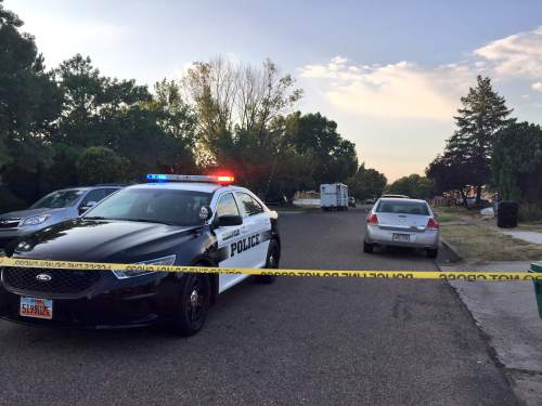 Courtesy of KUTV News A Layton man died in an exchange of gunfire with SWAT in Clearfield early Wednesday morning.