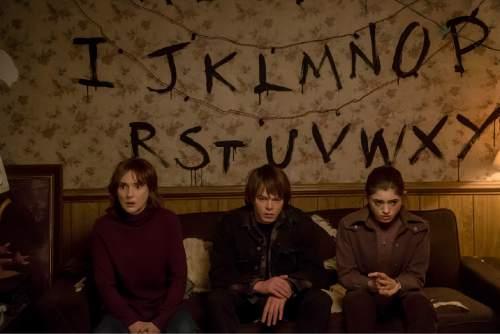Winona Ryder, Charlie Heaton and Natalia Dyer star in ìStranger Things.î  Photo: Courtesy Netflix