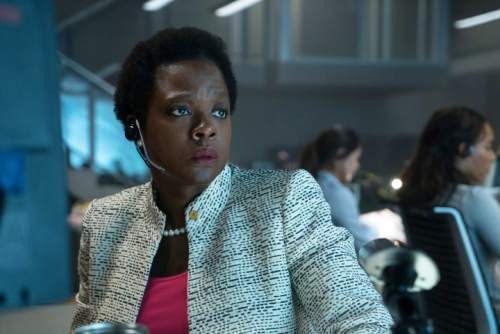 """This image released by Warner Bros. Pictures shows Viola Davis in a scene from, """"Suicide Squad."""" (Clay Enos/Warner Bros. Pictures via AP)"""