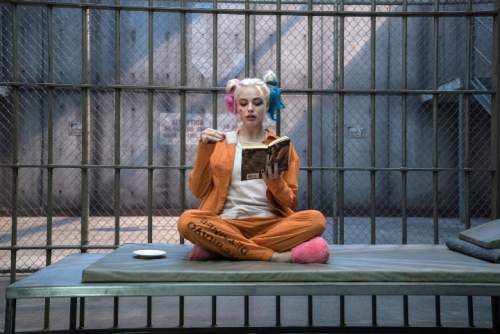 """This image released by Warner Bros. Pictures shows Margot Robbie in a scene from """"Suicide Squad."""" (Clay Enos/Warner Bros. Pictures via AP)"""