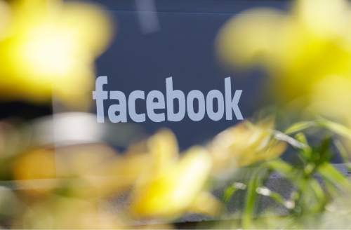 Paul Sakum  | AP file photo Social media giant Facebook is looking at Utah as a potential site of a data center.