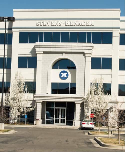 Rick Egan  |  The Salt Lake Tribune  The Stevens-Henager campus in Murray, Friday, March 20, 2015.