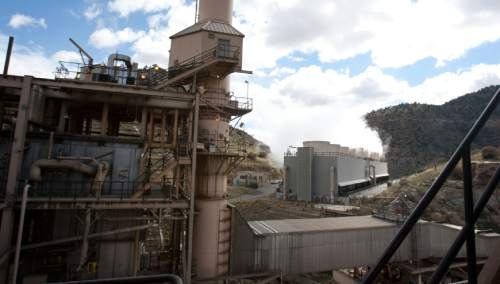Steve Griffin  |  Tribune file photo   A view from inside the Carbon Power Plant, a 60-year-old coal-fired electical-generating station, near Helper, Utah, Friday, September 27, 2013. The plant was retired in April 2015 and Rocky Mountain Power has been in the process of grading and capping a nearby coal ash waste pile for permanent closure. But a rainstorm Aug. 4 sent floodwaters down Panther Canyon, overwhelmed storm water systems and pushed an estimated 2,700 cubic yards of coal ash into the Price River.