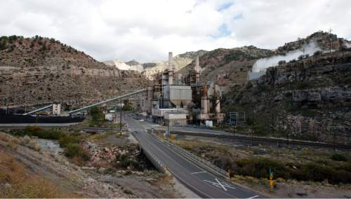 Steve Griffin  |   Tribune file photo   A view of the Carbon Power Plant, a 60-year-old coal-fired electical-generating station, near Helper, Utah Friday, September 27, 2013. The plant was retired in April 2015 and Rocky Mountain Power has been in the process of grading and capping a nearby coal ash waste pile for permanent closure.But a rainstorm Aug. 4 sent floodwaters down Panther Canyon, overwhelmed stormwater systems and pushed an estimated 2,700 cubic yards of coal ash into the Price River.