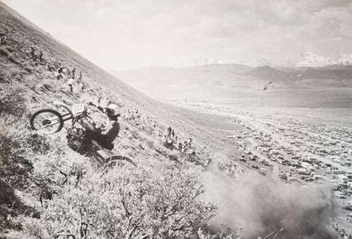 Tribune file photo  A rider tackles the course during a Widow Maker event in 1982.