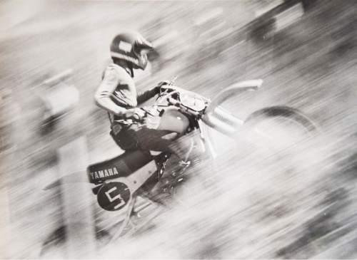 Tribune file photo Dick DeRosa, of California, rides in a Widow Maker event in 1982.