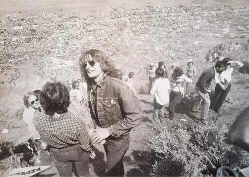 Tribune file photo Spectators take in the view during a Widow Maker event in 1982.