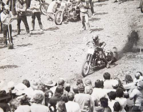 Tribune file photo  A rider starts his climb during a Widow Maker event in 1982.