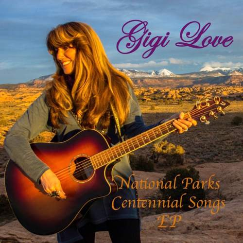 "Courtesy photo  The cover of Gigi Love's new EP, ""National Parks Centennial Songs"""