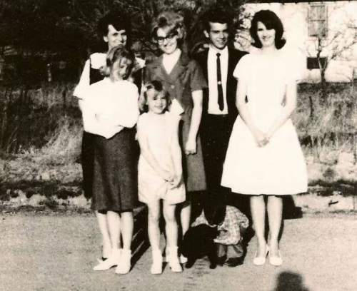 Courtesy  |  Heidi Asay  Loretta Jones, on the right, stands with her family for a photo.