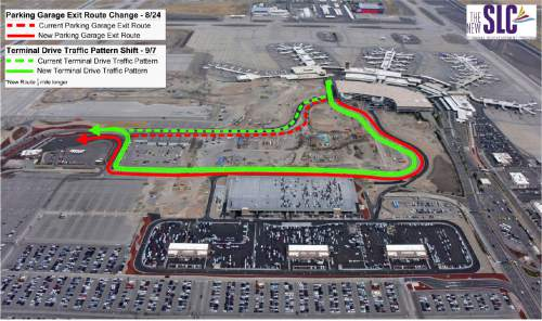 Significant Road Shifts Coming At Salt Lake City