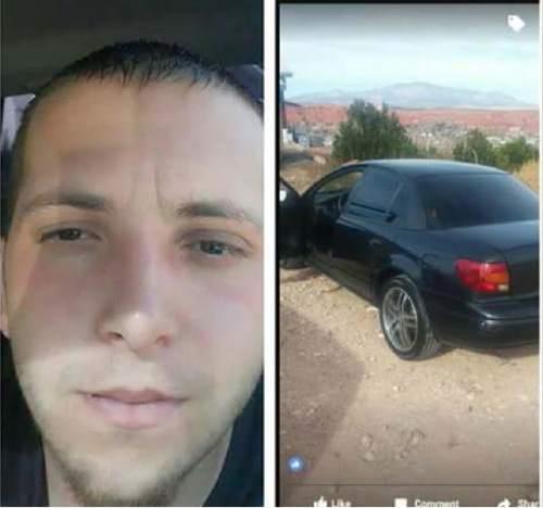 |  Courtesy Santa Clara € Ivins Police Department  David Corey Heisler and his car.