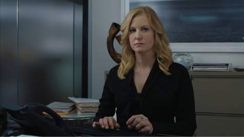 """Anna Gunn plays Naomi Bishop, an investment banker working a high-risk deal, in the financial thriller """"Equity."""" Courtesy Sony Pictures Classics"""