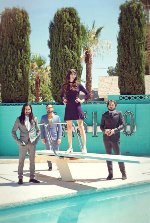 Silversun Pickups headlines the day-long Timpanogos Music Festival on Saturday at Brent Brown Ballpark on the UVU campus in Orem. Claire Marie Vogel   |  Courtesy