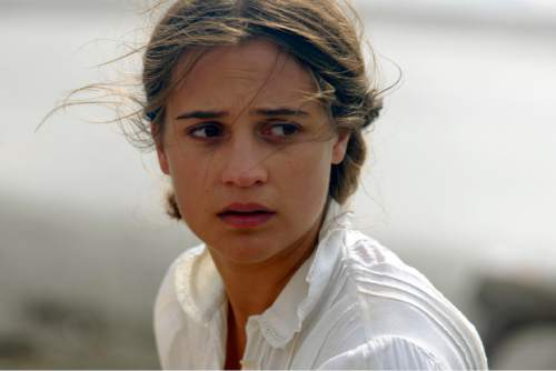 """This image released by Dreamworks II shows Alicia Vikander in a scene from, """"The Light Between Oceans."""" (Davi Russo/Dreamworks II via AP)"""