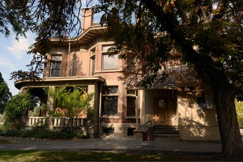 Al Hartmann  |  The Salt Lake Tribune  The original Fisher mansion is still standing on the Jordan River along 200 South in Salt Lake City.  The brewing buildings behind it are long gone.  The A. Fisher Brewing Co., first opened in 1884 by Albert Fisher. It closed in 1917 for statewide prohibiton and reopened on 1934, closing for good in the 1960s.