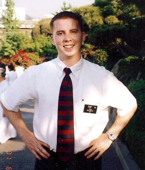 Elder David Sneddon Mormon Missionary – South Korea Seoul Mission  Courtesy photo