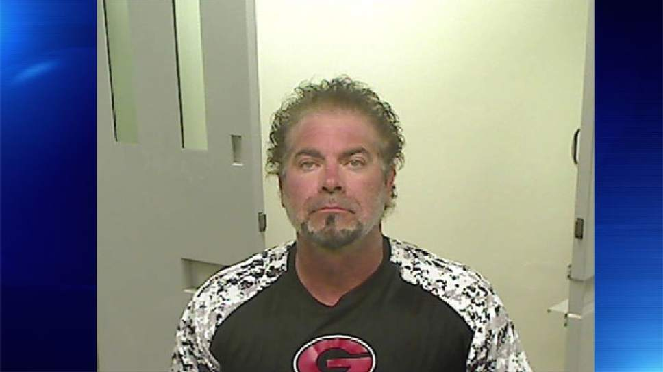 Curtis Ware (Tooele County jail photo)