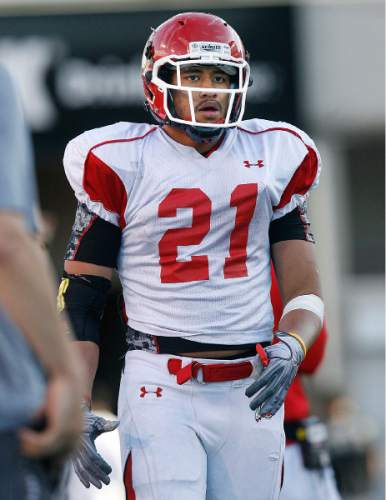 Scott Sommerdorf  |  The Salt Lake Tribune Harvey Langi graduated from Bingham High in December 2010 and enrolled at Utah for spring semester to be eligible for spring practices. Because he was already enrolled, he did not sign a national letter of intent on February's National Signing Day, and he became a recruitable athlete one year into his LDS mission to Tampa, Fla. Langi transferred to BYU after his return.