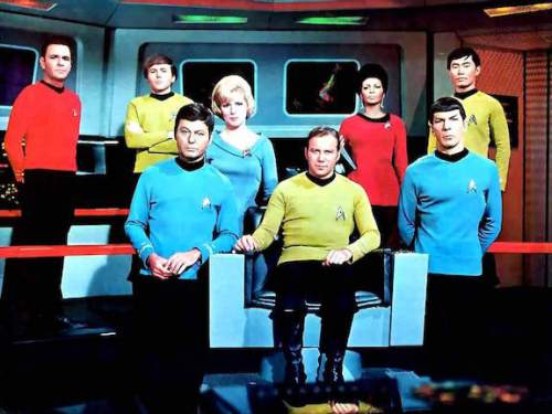 """""""Star Trek"""" aired on NBC from 1966-69 and spawned five shows, with a sixth coming in 2017. Courtesy Paramount"""