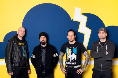 | Courtesy Volbeat  The band Volbeat.