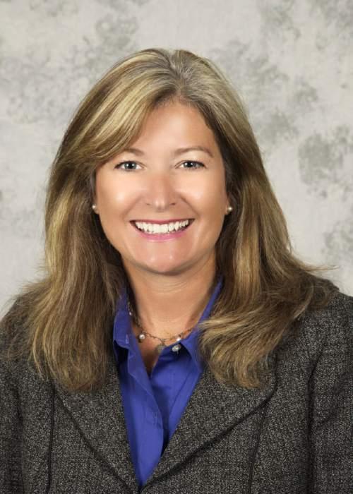Courtesy  |  Utah Education Association  Park City educator Heidi Matthews was elected Friday as the next president of the Utah Education Association.
