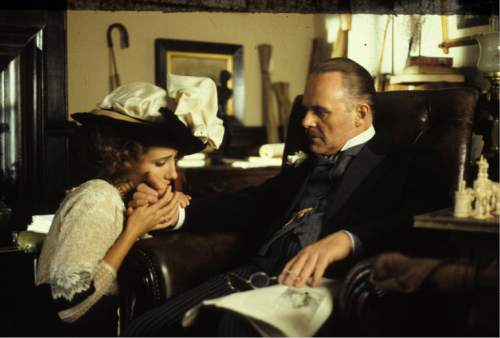 "Emma Thompson (left) and Anthony Hopkins star in the 1992 Merchant/Ivory production ""Howards End,"" which is returning to theaters in a restored print. Courtesy Cohen Media Group"