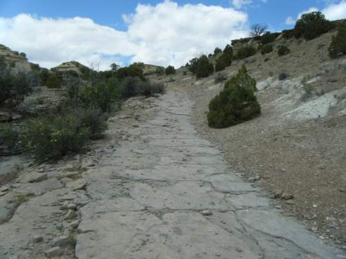 Courtesy     Bureau of Land Management  BLM and the National Park Service have released a long-awaited plan for administering the Old Spanish Trail, one of four national historic trails crossing Utah. Traces of the trail can be seen along Cottonwood Wash just west of U.S. Highway 6 in Emery County.