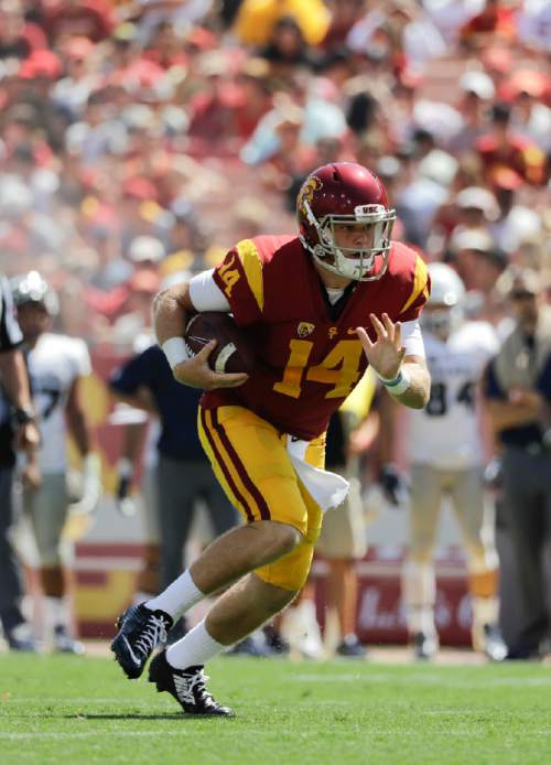 Pac-12: USC promotes QB Sam Darnold to starter over Max Browne - The ...