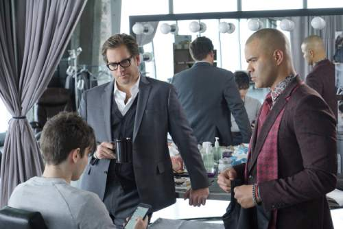 Michael Weatherly (left) stars as Dr. Jason Bull in ìBull,î a drama inspired by the early career of Dr. Phil McGraw. David M. Russell  |  CBS