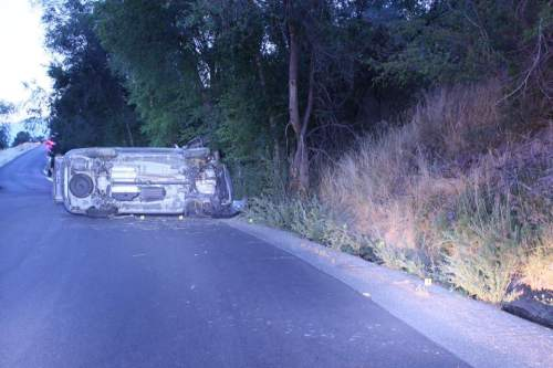 Courtesy  |  Provo Police Department  A 4-month-old baby is dead after a crash in Provo on Thursday, August 4.