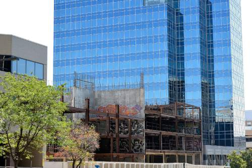 Chris Detrick  |  The Salt Lake Tribune The future of the Plaza at State Street project is in serious jeopardy. Tuesday Sept. 20, 2016.