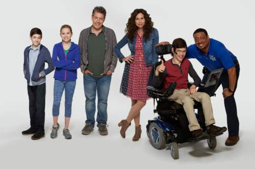 "ABC's ""Speechless"" stars Mason Cook as Ray, stars Kyla Kenedy as Dylan, John Ross Bowie as Jimmy, Minnie Driver as Maya, Micah Fowler as JJ and Cedric Yarbrough as Kenneth. Kevin Foley  