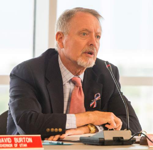 Rick Egan  |   Tribune file photo  Robert W. McKinley, vice chairman of the Utah Transit Authority Board, will become chairman with the pending departure of David Burton. McKinley is an attorney at the firm of Kirton McConkie.