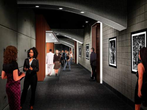|  Courtesy  Renderings of the $125 Million Vivint Smart Home Arena renovation project.