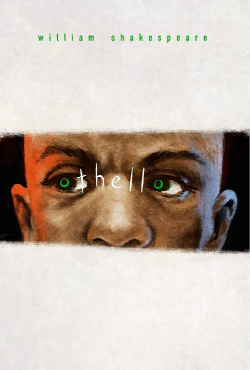 """Artist Mark Robison creates a new vision for the cover of """"Othello"""" as part of the Salt Lake Public Library's """"Recovering the Classics"""" exhibit that's part of October Utah Book Festival activities. (Courtesy)"""
