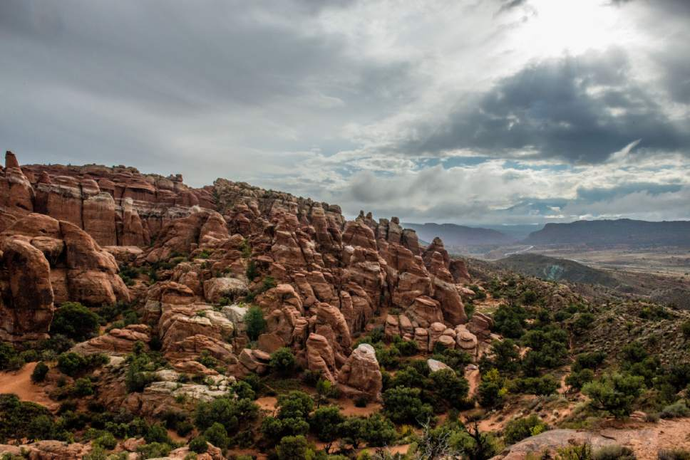 photo courtesy National Park Service  Utah's Fiery Furnace is seen in this 2015 photo.